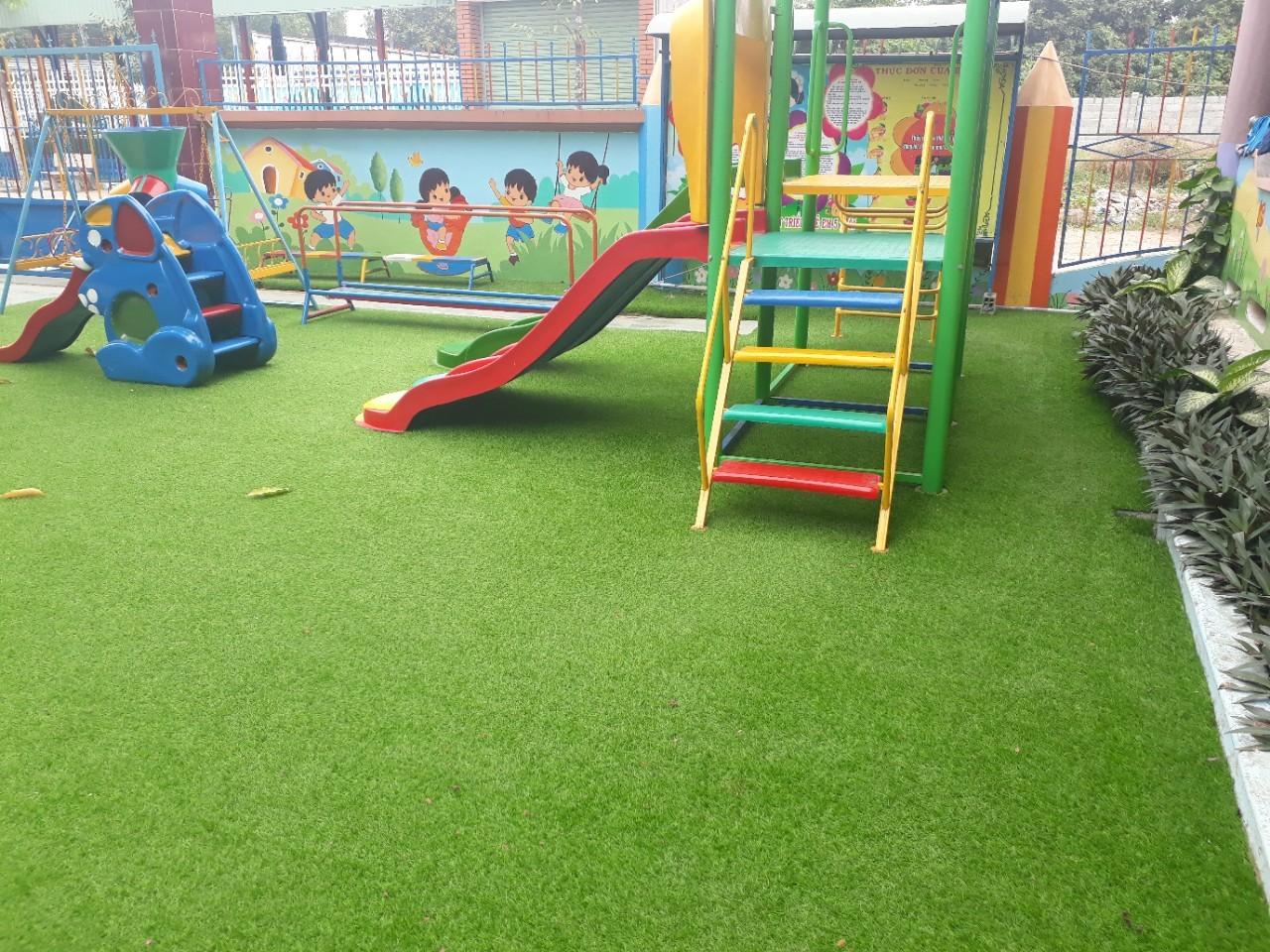 Gợi ý những mẫu thiết kế sân trường mầm non đẹp cho trẻ em