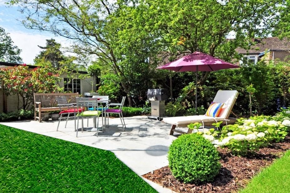 Cỏ nhân tạo sân vườn ngoài trời