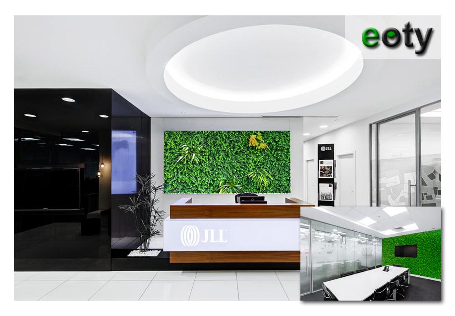 Cỏ nhân tạo Eoty trong việc thiết kế không gian xanh văn phòng