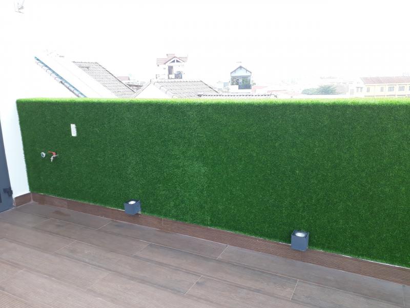 trang trí vách tường nhà ở quận tân bình
