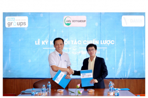 Buổi ký kết hợp tác giữa Eotygroup và Vinagroups