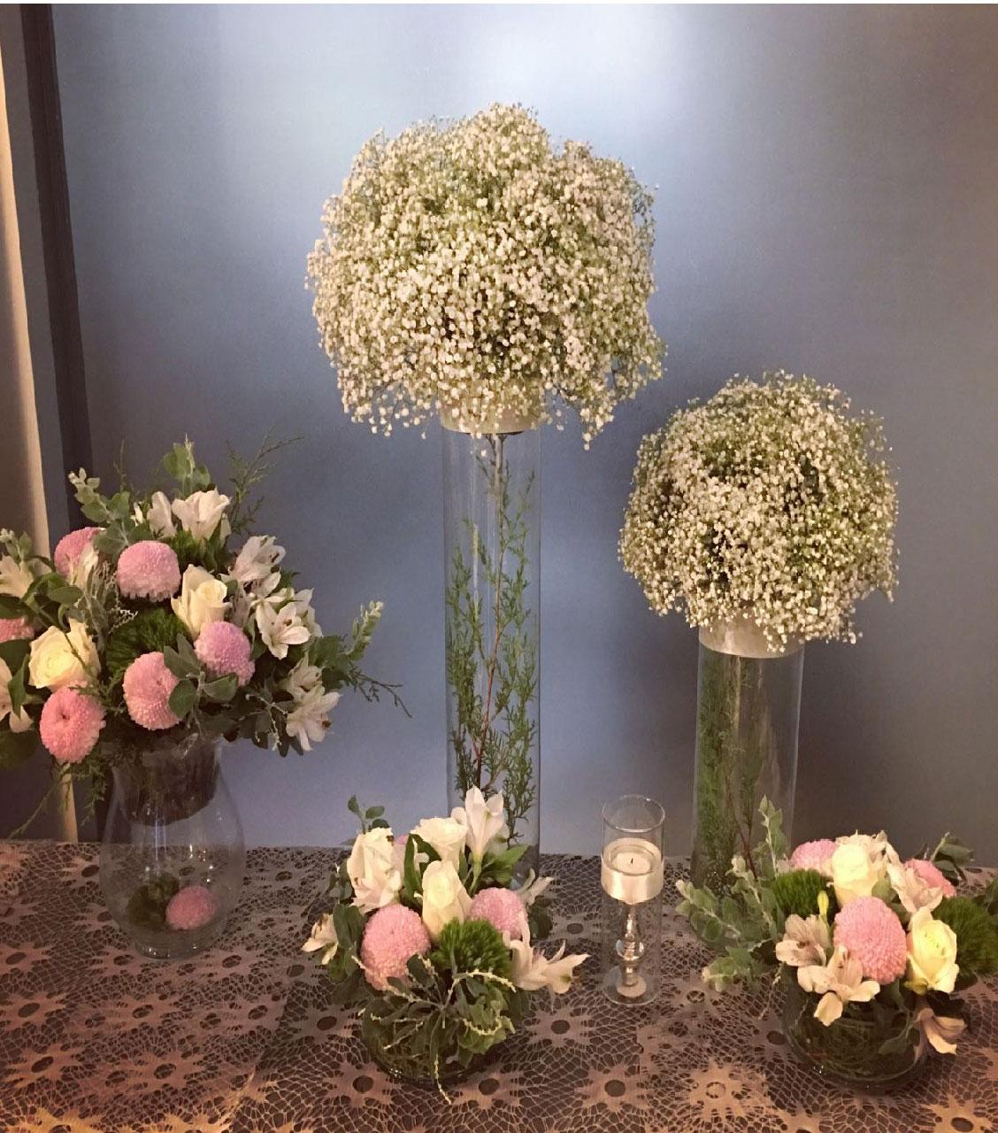 Bộ hoa ngày cưới