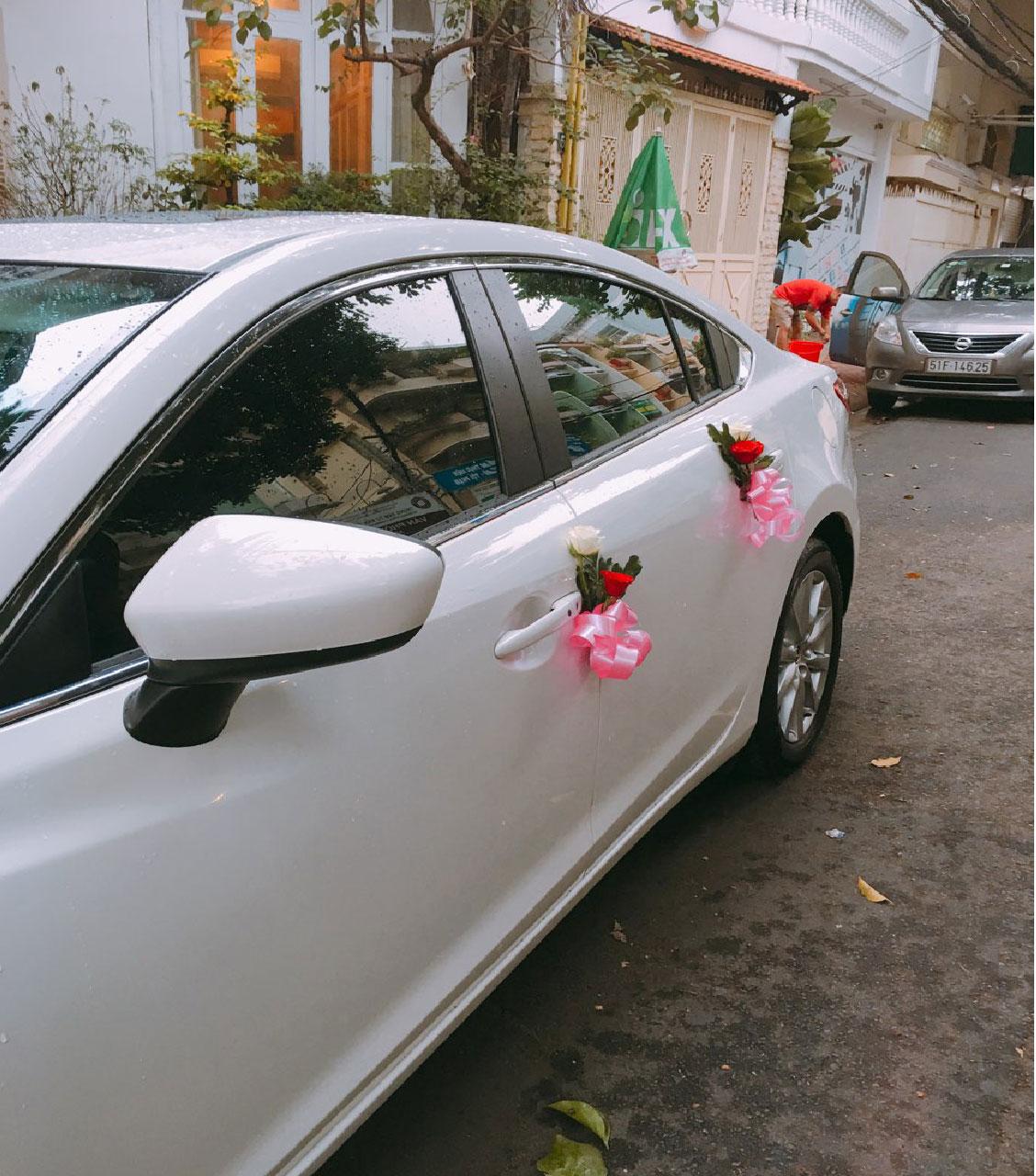 Hoa cô dâu, xe hoa cô dâu